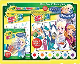 Crayola, Frozen, Color Wonder Mess-Free Coloring Activity Gift Set, Art Tools