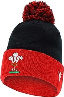 Macron Welsh Rugby Union ® WRU fanartikel beanie pomponmuts · volwassenen