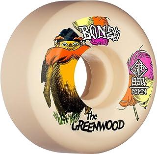 BONES WHEELS The Greenwood • 52mm • STF 99A • Sidecut, White, WPCANG0065299A4, WPCANG0065299A4, WPCANG0065299A4, WPCANG006...