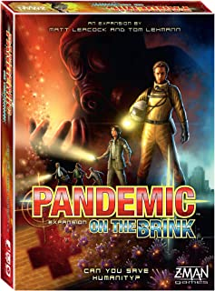 Z-Man Games ZM7111 Pandemic: On The Brink Expansion Board Game