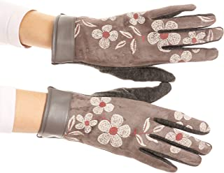Liya Classic Warm Driving Touch Screen Capable Stretch Gloves Fleece Lined