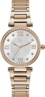 Gc Womens Quartz Watch, Analog Display And Stainless Steel Strap - Y64002L1MF