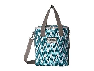 KAVU Takeout Tote (Zigzag) Tote Handbags