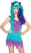 Leg Avenue Women's 2 Piece Fuzzy Frankie Monster Costume