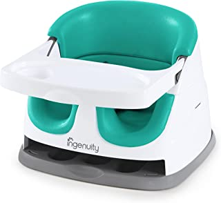 Ingenuity Baby Base 2-in-1 Seat - Ultramarine Green - Booster Feeding Seat