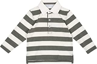 Aresway Boys and Baby Boys Long Sleeve Striped Fashion Shirts 100% Cotton Tees Various