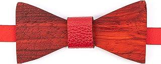 Ovi Watch - Rojo Pajaritas de Madera - Simple y elegante para los que aprecian los productos naturales y hechos a mano