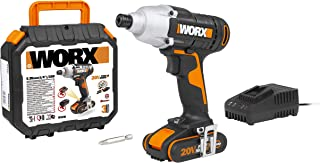 Sponsored Ad – WORX WX291 18V (20V Max) Cordless Impact Driver with 2.0 Ah Battery