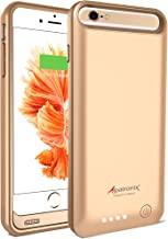 Alpatronix iPhone 6S Plus/6 Plus Battery Case, 4000mAh MFi Certified Slim Portable Protective Extended Charger Cover Compa...
