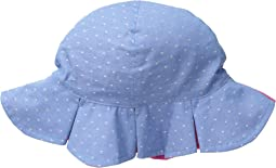 San Diego Hat Company Kids CTK3462 Reversible Chambray Bucket w/ Chin Strap (Infant)