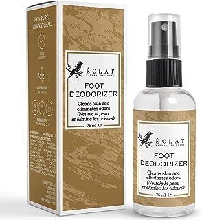 Déodorant pour les pieds d'Eclat – Déodorant pour les pieds et chaussures naturel – Rafraîchit et élimine les mauvaises od...
