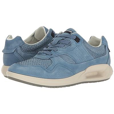 ECCO CS16 Sneaker (Retro Blue/Retro Bliue Cow Nubuck) Women