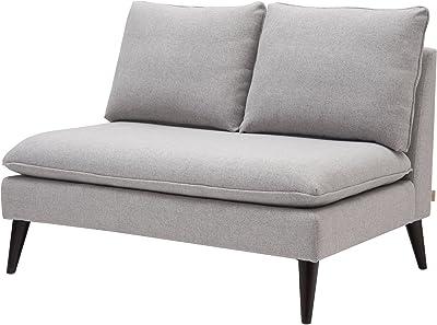 Amazon.com: LILOLA Jules 4 Seater Sofa in Dark Gray Linen ...
