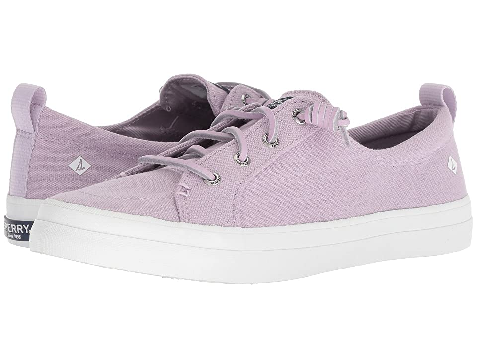 Sperry Crest Vibe Linen Seasonal (Light Purple) Women