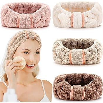 Mädchen Haarband Wash Face Bath Spa Make up Wrap Stirnband weichen elastisc T7V3
