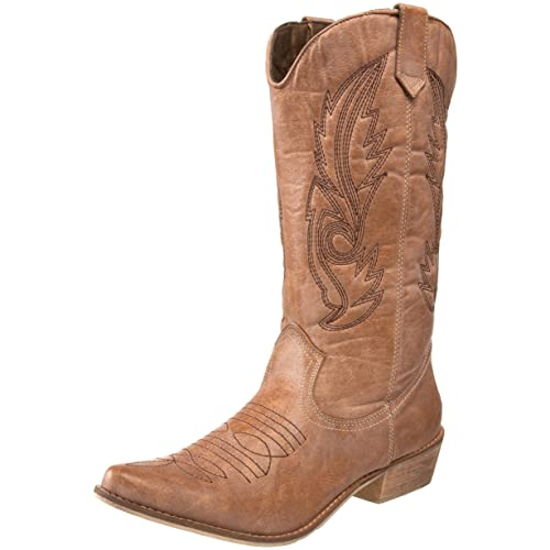 744c0eef0fe Women's Cowgirl Boots: Amazon.com