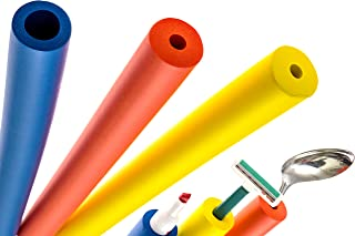 6-Pack of Foam Grip Tubing / Foam Tubing - Pefect For Utensils, Tools and More - BPA / Phthalate / Latex-Free