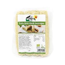 Taifun Tofu Grill Herb Sausages, 250 g