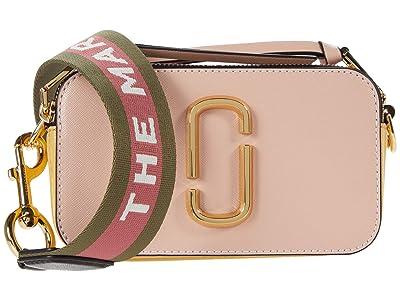 Marc Jacobs Snapshot Crossbody (New Rose Multi) Handbags
