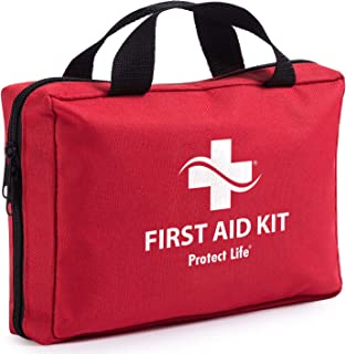 Protect Life First Aid Kit for Car, Home, Traveling, Camping, Office or Sports | 200..