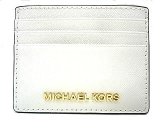 Michael Kors Jet Set de viaje grande Saffiano piel tarjeta soporte
