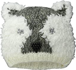 San Diego Hat Company Kids - KNK3435 Polar Bear Beanie with Beads (Little Kids/Big Kids)