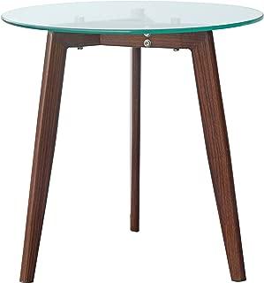 POLY & BARK Triskele End Table, Walnut