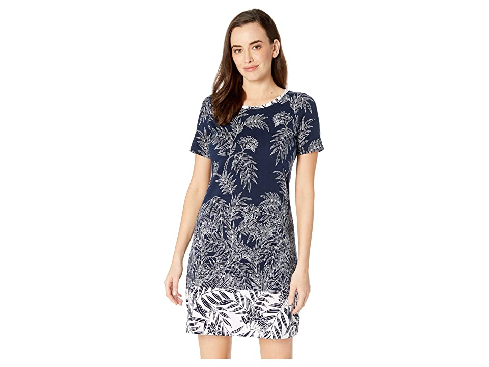 Tommy Bahama - Tommy Bahama Fronds Have More Fun Short Sleeve Dress