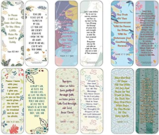 NewEights Popular Prayers and Bible Scripture About Peace Bookmarks (60-Pack) – Uplifting Prayer Card Set – Inspirational ...