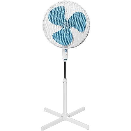 Bestron ASV45W Summer Breeze Ventilateur, Blanc, 45 cm