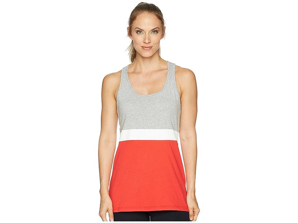 New Balance NB Athletic Novelty Tank Top (Cerise/Athletic Grey/White) Women