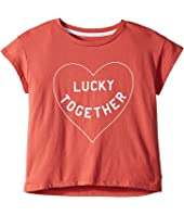 Lucky Brand Kids Luna Graphic Tee (Big Kids)