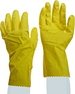 Ansell FL 87-188 Light Duty Latex Glove, Chemical Resistant, 12