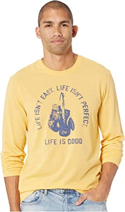 Life Isn't Easy Fight Long Sleeve Cool T-Shirt