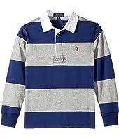 Polo Ralph Lauren Kids - Cotton Jersey Rugby Shirt (Big Kids)