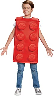 Lego Classic Red Brick Costume for Kids