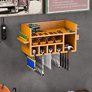 Comtest Power Tool Organizer Drill Charging Station Wall...
