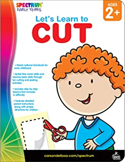 Spectrum - Let`s Learn to Cut, Grades Toddler - PK
