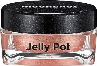 ムーンショット(moonshot) ブラックピンク ゼリーポット パールタイプ アイシャドウ Jelly Pot Pearl Type Eyeshadow (P03 ウォームドレスWarm Dress)