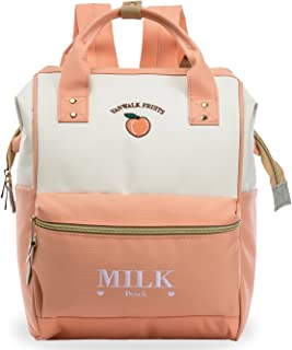 Casual School Backpack, Cute Travel Backpack for Women Girls, with Wide Top Opening