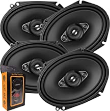 2 Pairs of Pioneer 5x7/ 6x8 Inch 4-Way 350 Watt Car Audio Speakers | TS-A6880F (4 Speakers) + Free Gravity Mobile Bracket ... photo