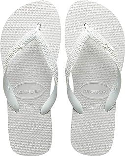 Havaianas Top, Unisex-Adult Flip Flops, White(White), 13 UK (47/48 (45/46 Brazilian))