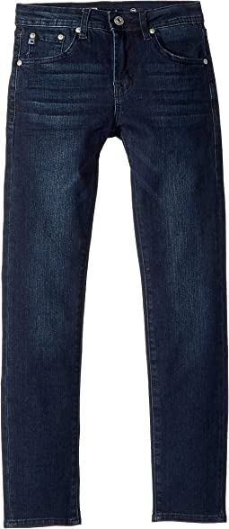 Slim Skinny Jeans in Dark Indigo Sand (Big Kids)