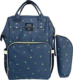 Arkmiido Diaper Bag Backpack, Nappy Bag with Waterproof Pocket and Large Capacity Multi-Function