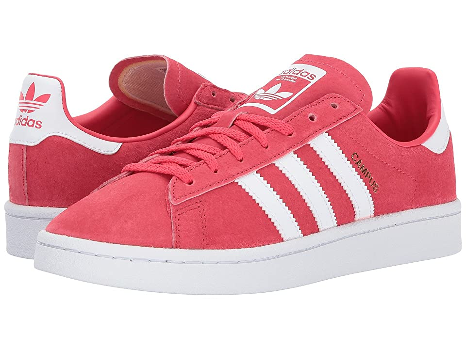 adidas Originals Campus (Easy Coral/Tactile Red/White) Women