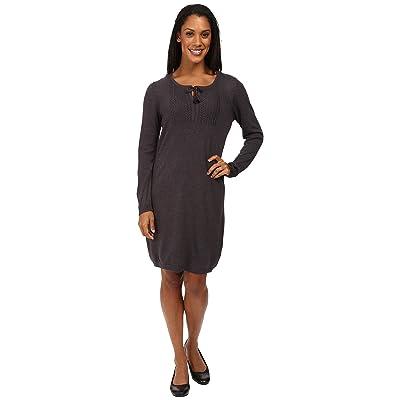 Royal Robbins First Light Sweater Dress (Charcoal) Women