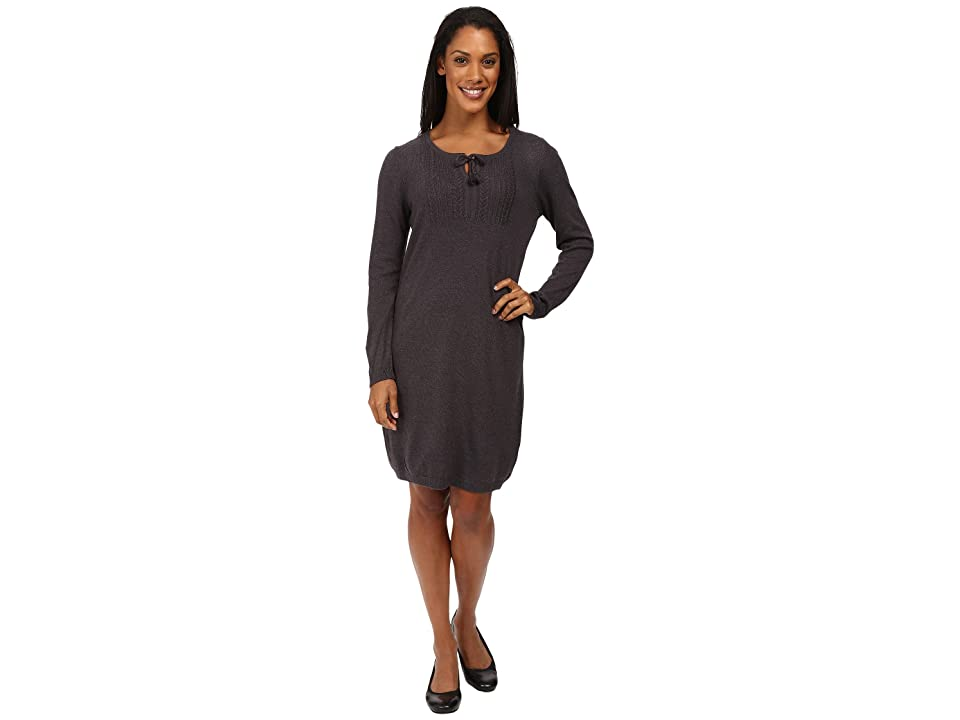 Royal Robbins First Light Sweater Dress (Charcoal) Women