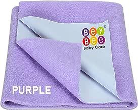 Beybee Just Dry Waterproof Bed Protector Sheet - Medium (Violet)