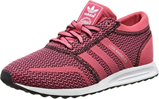 adidas Originals Womens Los Angeles Casual Laced Fashion Trainers Shoes - Pink