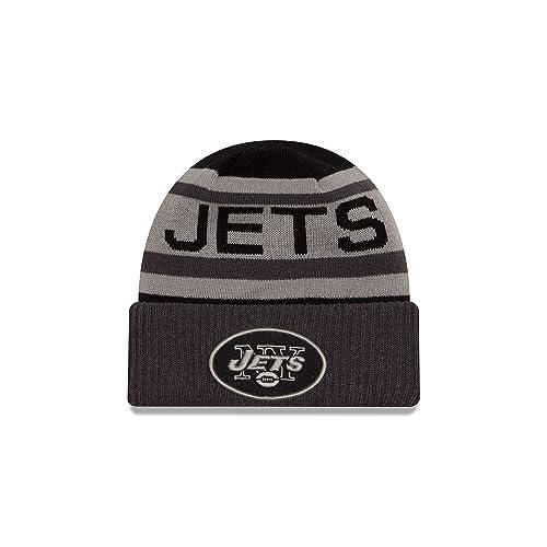 newest fb5a4 38888 New Era NFL Unisex NFL Black   Gray Biggest Fan 2.0 Cuff Knit Beanie